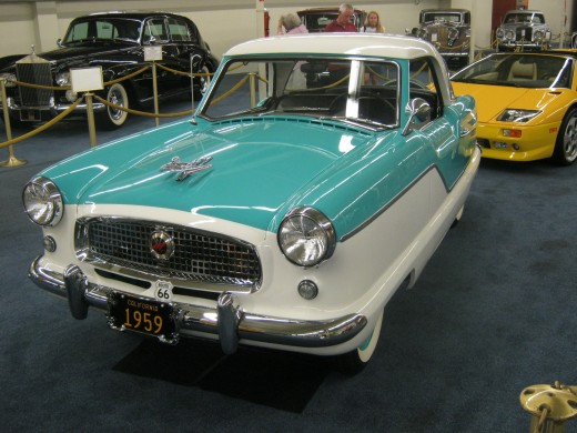 """A """"Nash"""" ~ My husband thinks that his Aunt had one of these, they were """"cute"""" cars preferred by women!"""