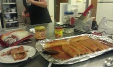 I made these Enchiladas last week at my job.
