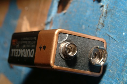 9 Volt Duracell Battery
