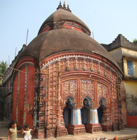 The Damodar temple of Shilbati