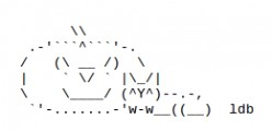 Happy Halloween ASCII Text Art