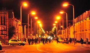 The riots in Birkenhead