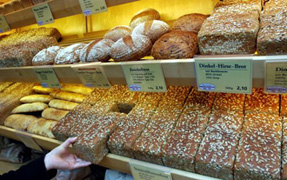 Germany has 300 different kinds of bread...