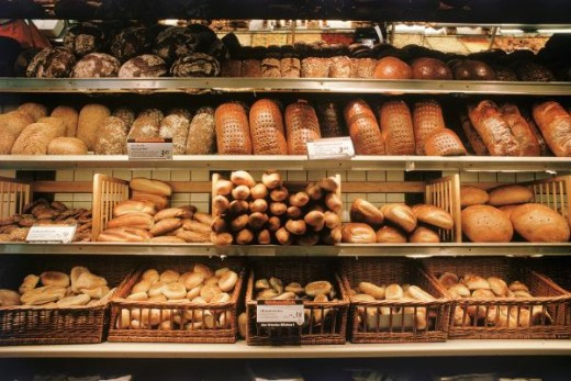 300 Brotsorten in Deutschland! I so love hearing that!