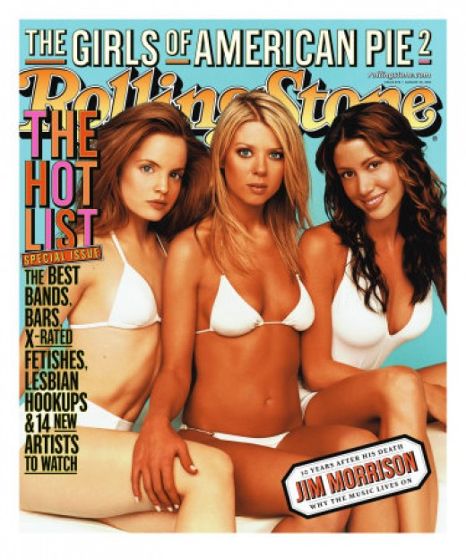 Cast of American Pie 2,  Rolling Stone no. 876,  August 2001, by Jim Wright
