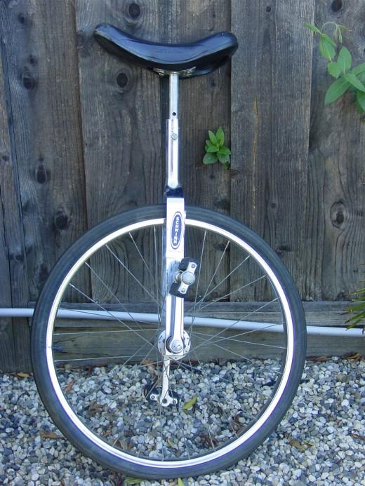 Side View of Schwinn Unicycle