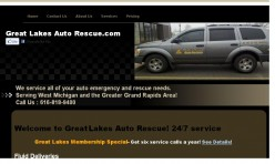 Great Lakes Auto Rescue Website Review