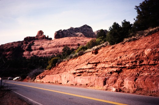 Red rocks around Sedona