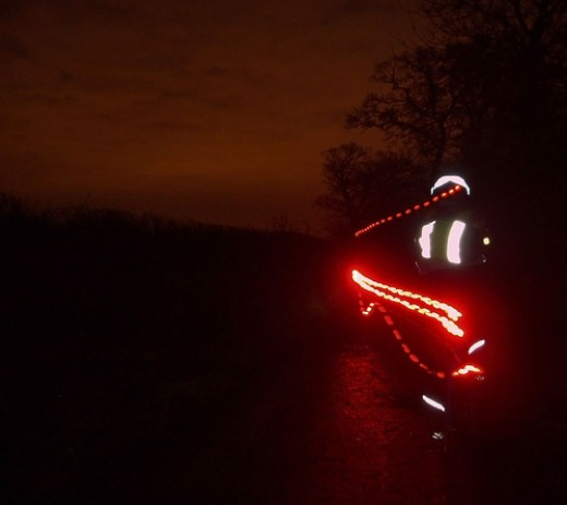 Be seen by motorists while on your bike in winter