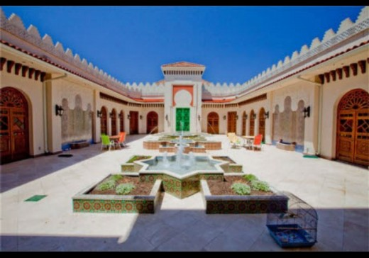 or maybe a Moroccan Palace
