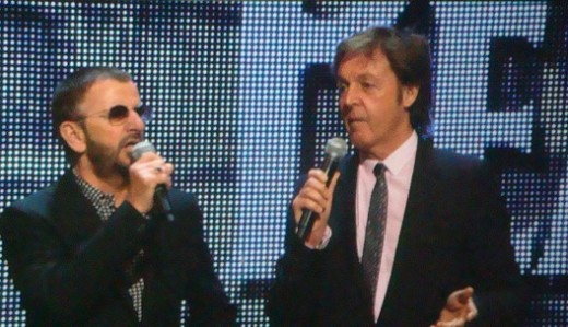Beatles Ringo Starr and Paul McCartney, 2009