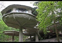 I know - you have always wanted to buy a mushroom house !