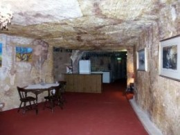 It is a lot cooler living in one of these in Coober Pedy