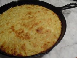 Skillet Cornbread with Corn