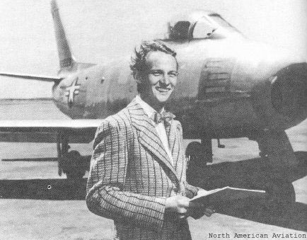 """George Welch, one of the American pilots who made it off the ground during the attack on Pearl Harbor. Not quite as """"dreamy"""" as Josh Hartnett."""