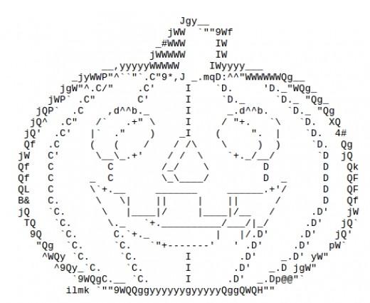Jack O Lantern Ascii Art