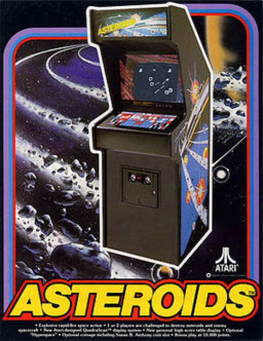 Asteroids - Blowing up rocks has never been so fun