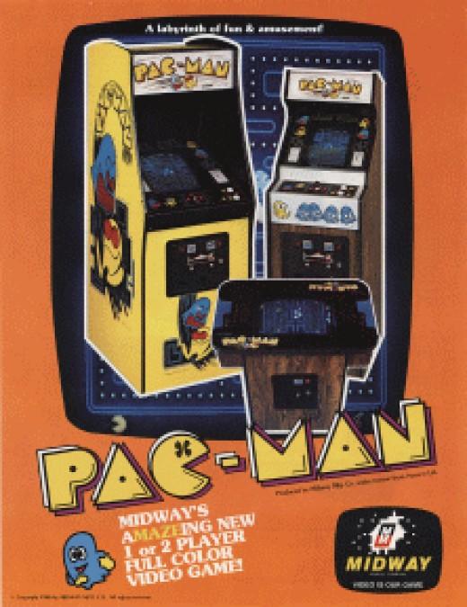 Pac-Man Arcade Machines