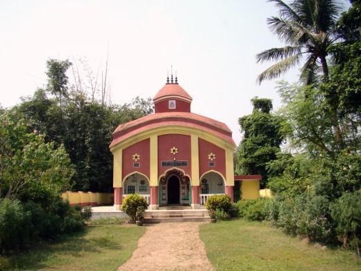 The temple of Goddess Dwarika Chandi