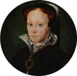 The marriage of Mary Tudor to  Phillip of Spain