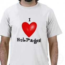 I Love My Hubpages (Simple Words)