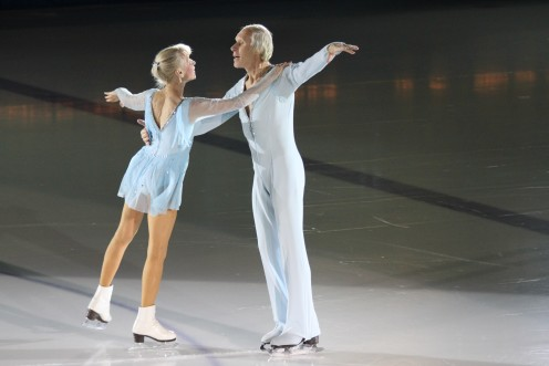 Ludmila and Oleg Protopopov Olympic Gold medalists 1964, 1968