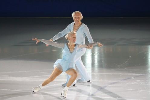 Ludmila and Oleg Protopopov