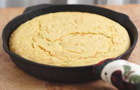 GOOD OLD CORNBREAD is always good to cuddle up with on a starving Winter night. Cornbread is my friend first and food 'love' second.