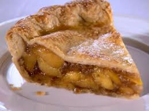 PEACH PIE is so alluring that I cannot finish my 'dinner date' with catfish before peach pie starts tempting me with that sweet peach perfume.