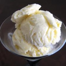 VANILLA ICE CREAM takes my very breath away everytime I see 'her' in the grocery store.