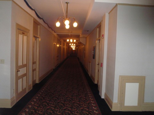 One of the Hallways of the Belleview Biltmore Hotel