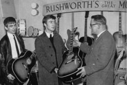 The Gibson J - 160E John Lennon Guitar.