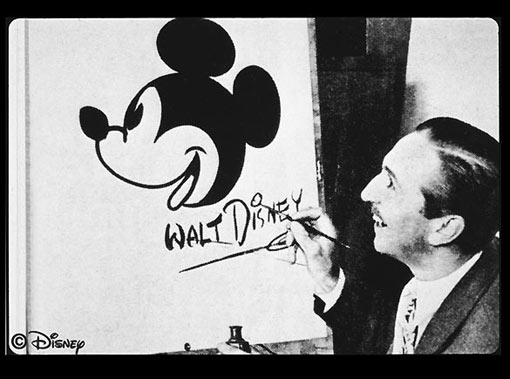 Walt Disney created Mickey Mouse