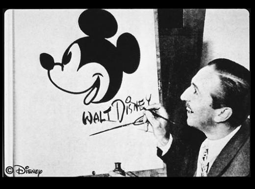 Walt Disney created Mickey Mouse
