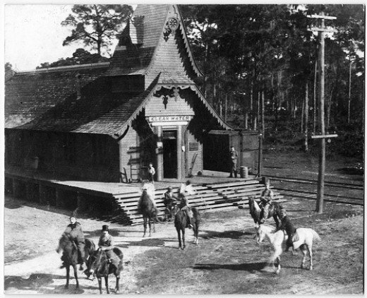 One of the Original Train Stations in Clearwater in early 1900's