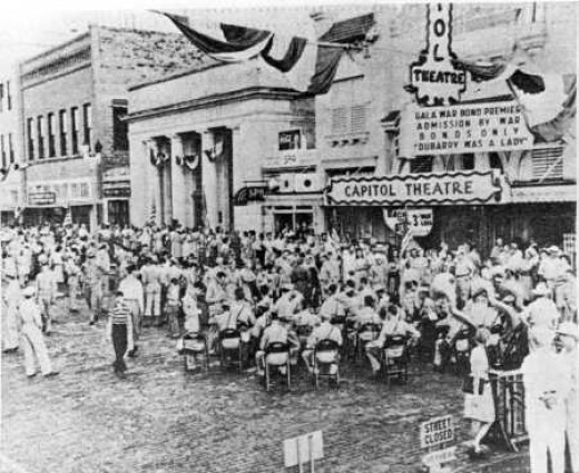 Capitol Theater in Clearwater in early 20th century