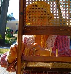 Chair Repairs: Preparing to Cane Chair Seats
