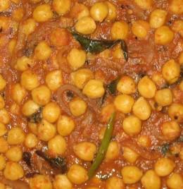 Chole or chana masala