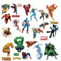 Marvel Heroes Decal