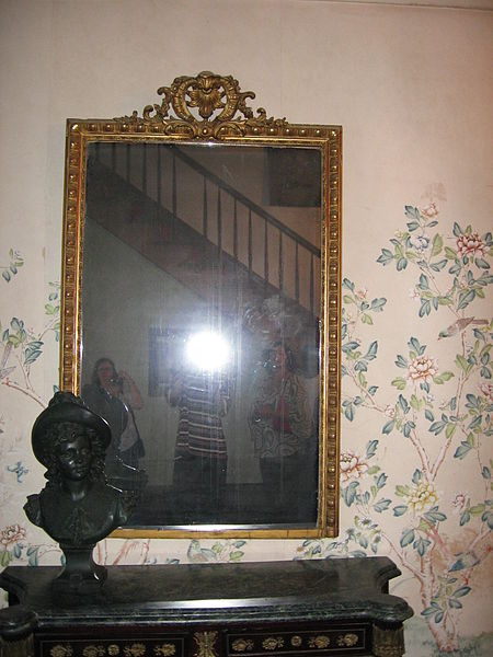 The infamous mirror within the Myrtles. Numerous photos have been reported as having apparitions appear in the mirror. Many have been debunked, others still remain a mystery.
