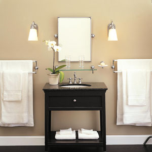 Small Bathroom Makeovers - Bathroom Lighting | HubPages