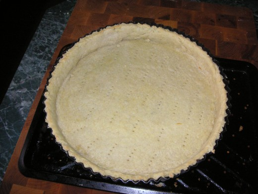 Final Results: A Blind Baked Pie Crust Ready For a Filling of Your Choice!
