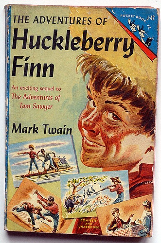 A literary analysis of the entire plot of the adventures of huckleberry finn by mark twain