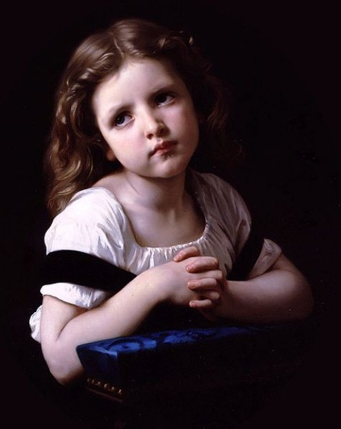 Modified from original at Image:William-Adolphe Bouguereau (1825-1905) - The Prayer (1865) via Wikimedia Commons