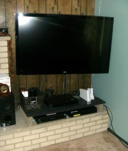 The LG 55LW6500 3d TV