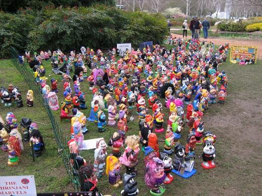 Garden Gnomes - Floriade, Canberra