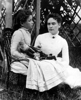 Helen and her teacher, Anne, taken just weeks after the two met.