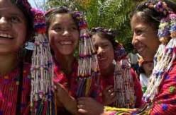 Maya indian girls today.