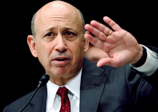 "Lloyd Blankfein ""doing God's work""."