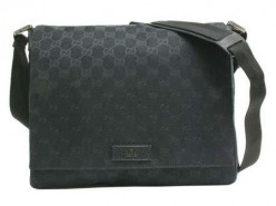 Gucci's messenger bag is polished and stylish.